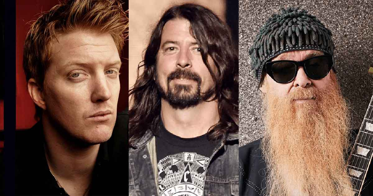 Dave Grohl, Billy Gibbons And Josh Homme Working On New
