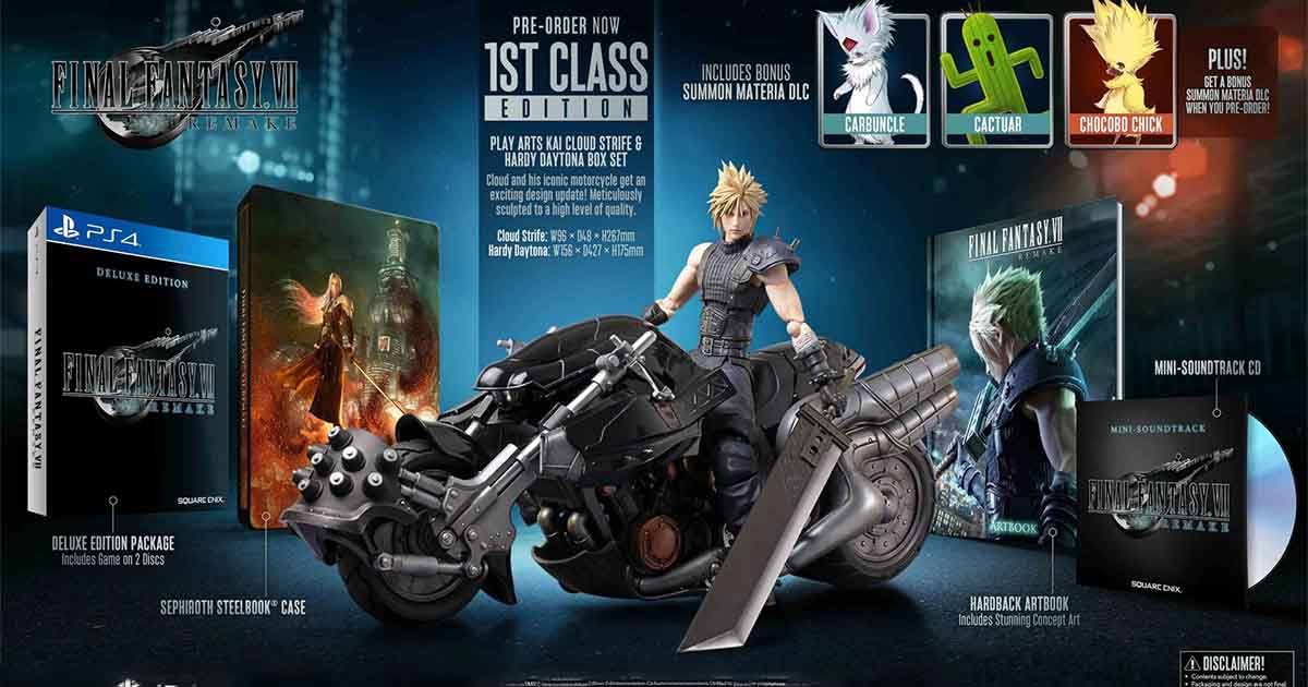 Final Fantasy Remake 1st Class Edition