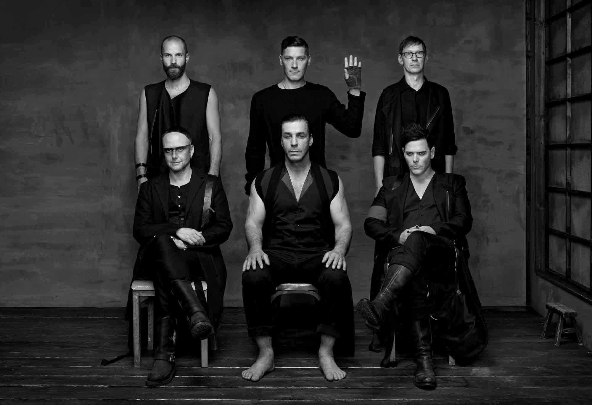 RAMMSTEIN new album due in April 2019 with 5 music videos